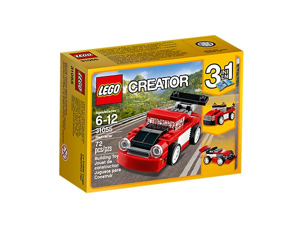 Red racer Lego 31055 CREATOR