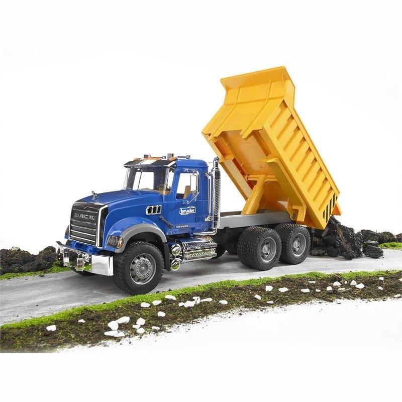 Bruder Bruder 1:16 MACK Camion-benne Granite