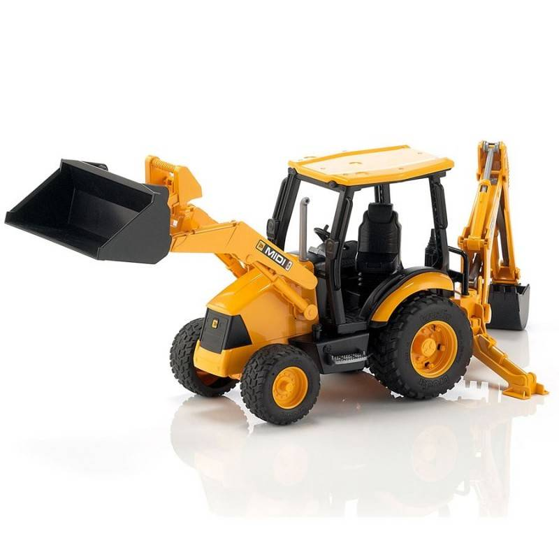 Bruder Bruder 02427 JCB MIDI CX Backhoe Loader