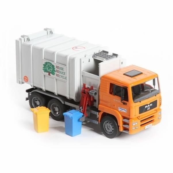Bruder Bruder 02761 MAN TGA Side Loading Garbage Truck