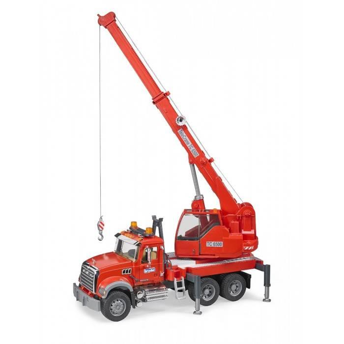 Bruder Bruder 02826 Mack Granite Crane with Light and Sound