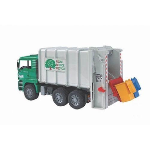 Bruder Bruder 02764 MAN TGA Rear Loading Recycling Truck