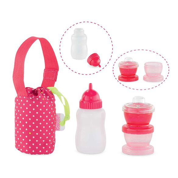 Corolle COROLLE DMN08 - Travel Mealtime Box - Doll Accessory by Corolle