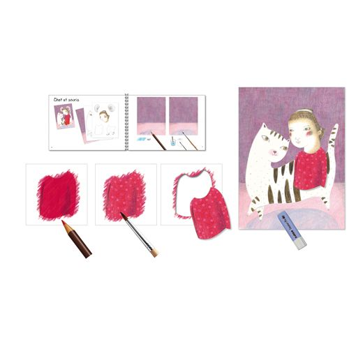 Djeco Djeco 08611 - Workshop / Watercolour pencil