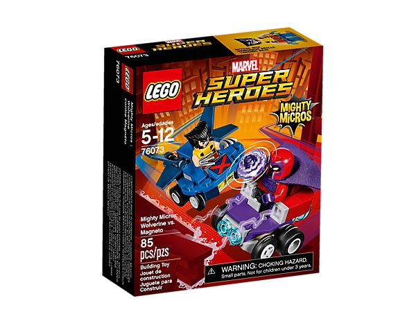 Lego 76073 Mighty Micros: Wolverine vs. Magneto