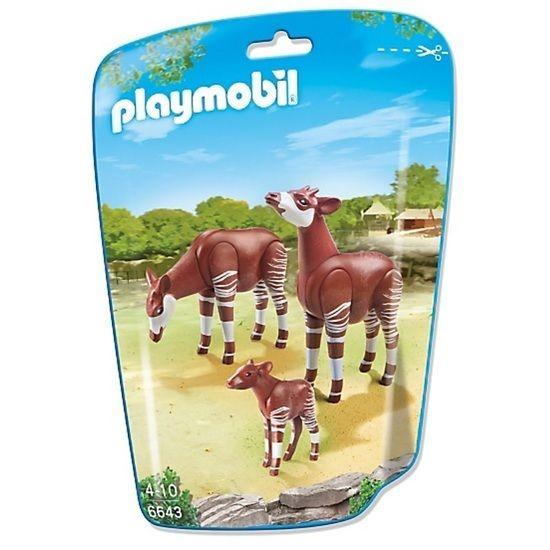 Playmobil Playmobil 6643 Okapi Family