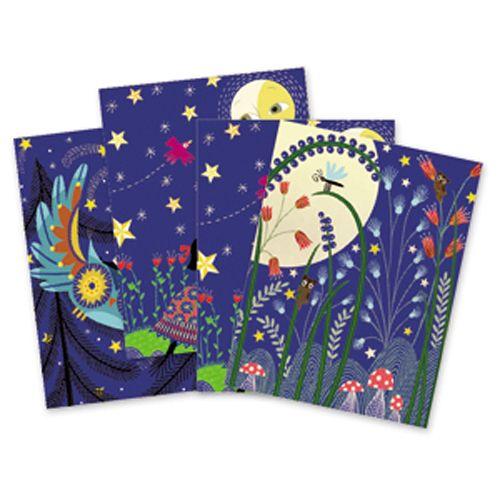 Djeco Djeco 09723 Scratch cards / Full moon