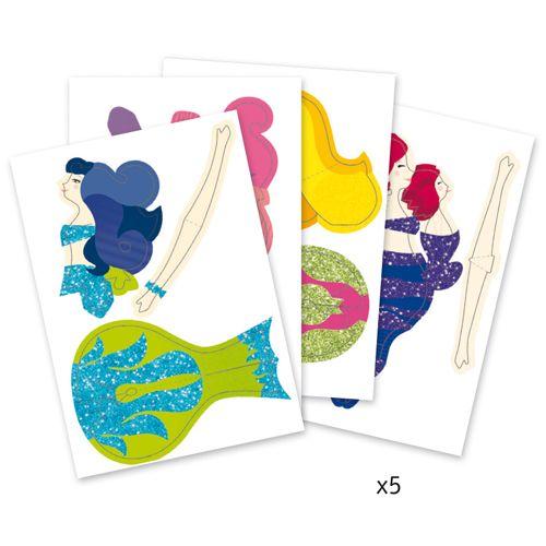 Djeco Djeco 09703 Paper toys / Mermaids