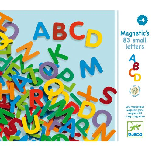 Djeco Djeco DJ03101Magnetic's / 83 small letters