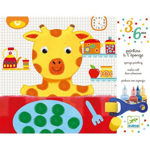 Djeco Djeco 09880 Sponge painting