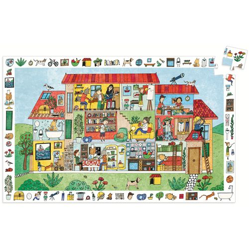 Djeco Djeco 07594 Observation puzzle/ House / 35 pcs