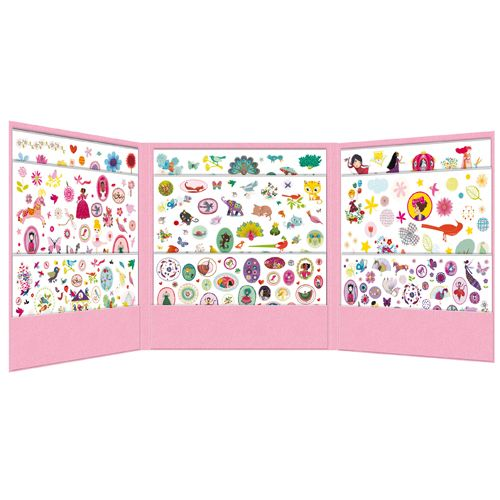Djeco 08951 Stickers / 1000 stickers for girls