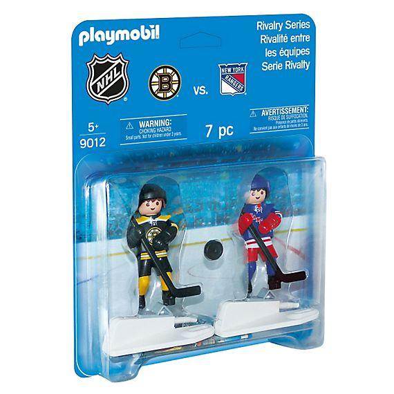 Playmobil il 9012 NHL Rivalry Boston Bruins vs New York Rangers