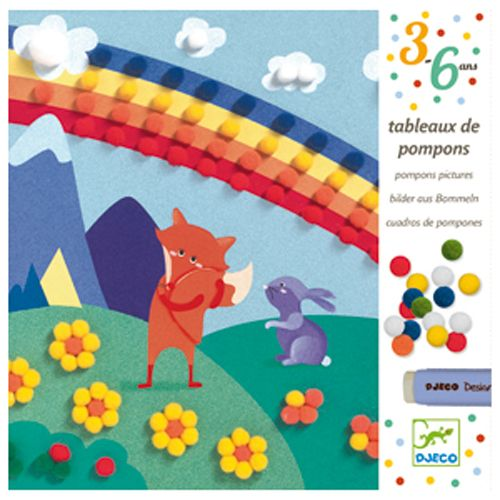 Djeco Djeco 09865 Pompons / Softly softly