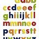 Clementoni QUERCETTI 5460 - 40 lettres minuscules et magnétiques