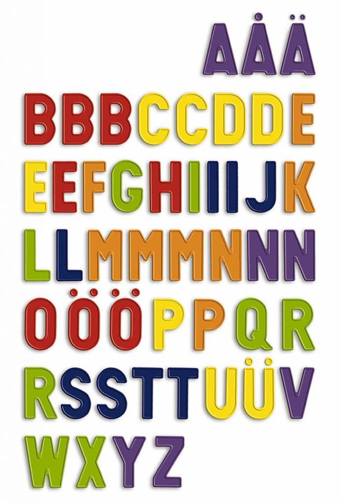 Clementoni QUERCETTI 5461 - 48 lettres majuscules et magnétiques