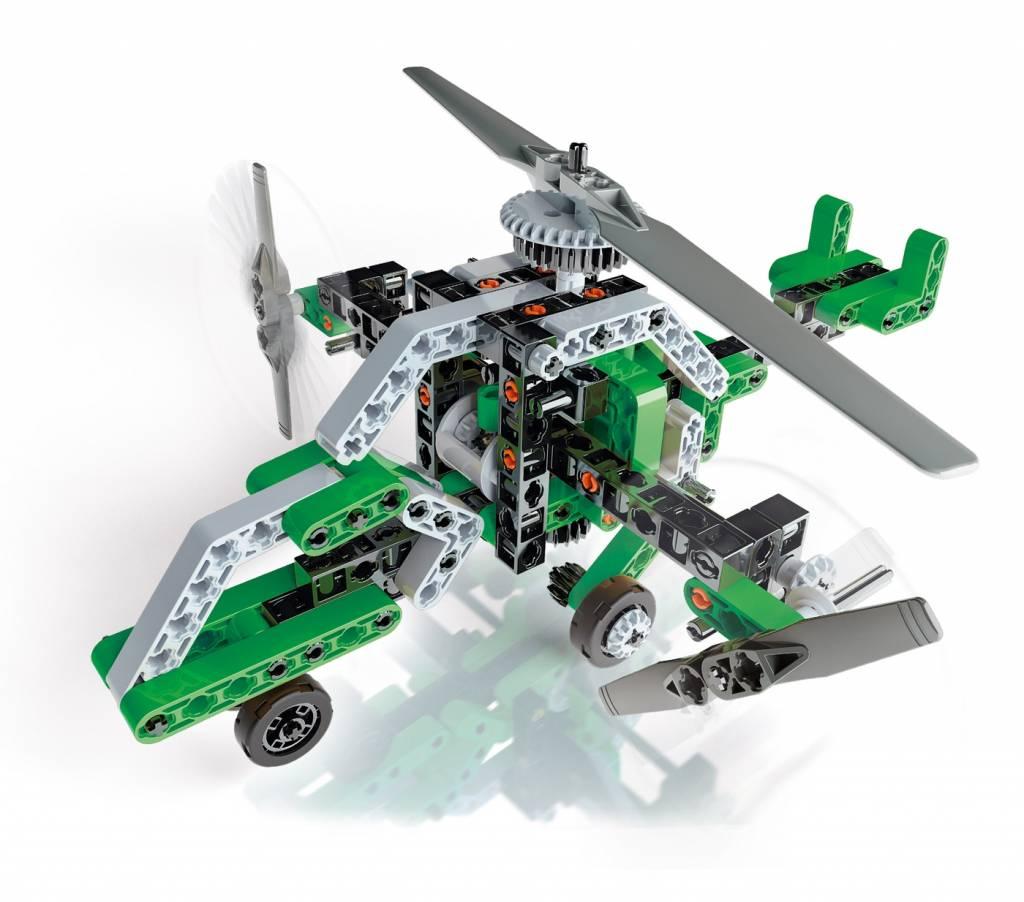 Clementoni CLEMENTONI 52217 - Hélicoptère et aéroglisseur