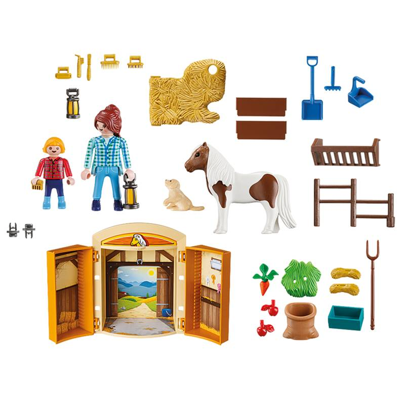 Playmobil Playmobil 5660 Pony Stable Play Box