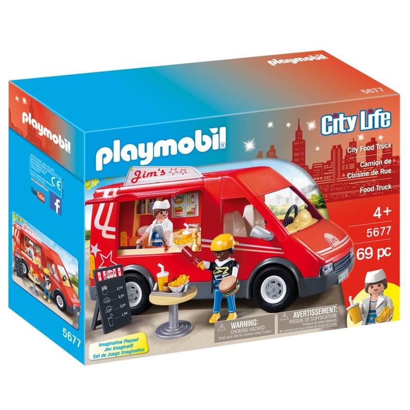 Playmobil Playmobil 5677 City Food Truck