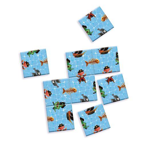 Djeco DJECO 05364 Mini Logix - Impossible pirates puzzle