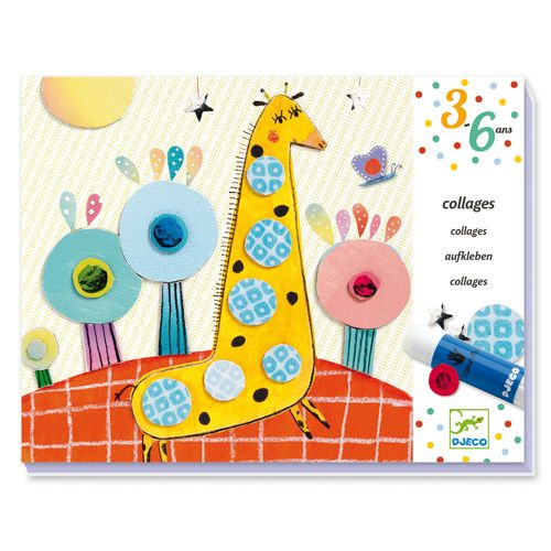 Djeco Djeco 08666 Collages for little ones / So pop