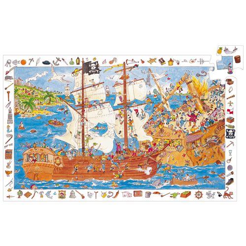 Djeco Djeco 07506 Observation puzzle / Pirates / 100 pcs