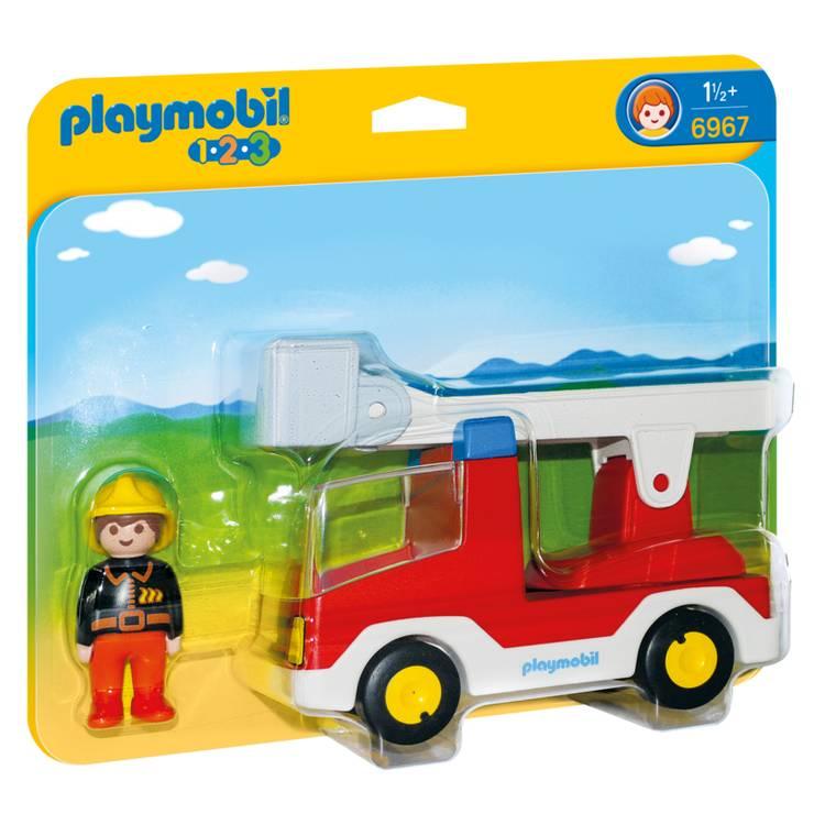 Playmobil Playmobil 6967 Ladder Unit Fire Truck