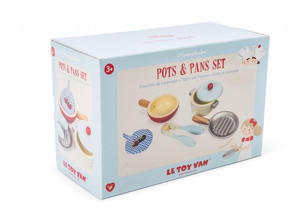 Le Toy Van Le Toy Van TV301 - Pots & Pans