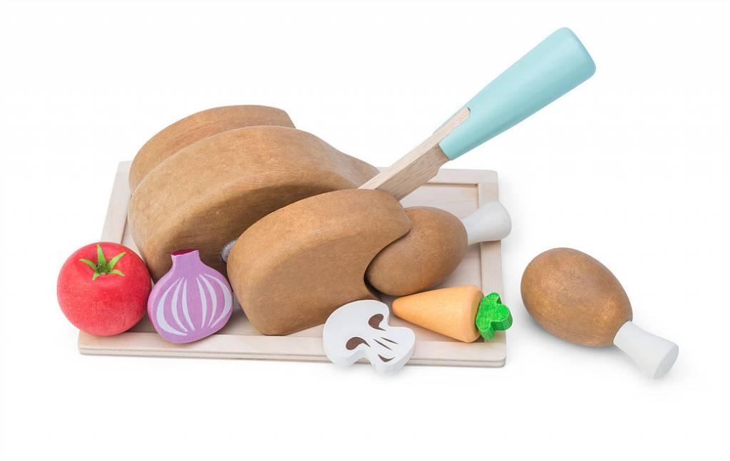 Le Toy Van Le ToyVan TV314 - Chicken 'Sunday Roast Set'
