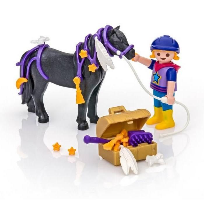 Playmobil Playmobil 6970 Groomer with Star Pony