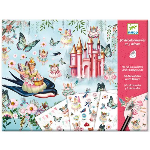 Djeco Djeco 09566 Decals / In Fairyland