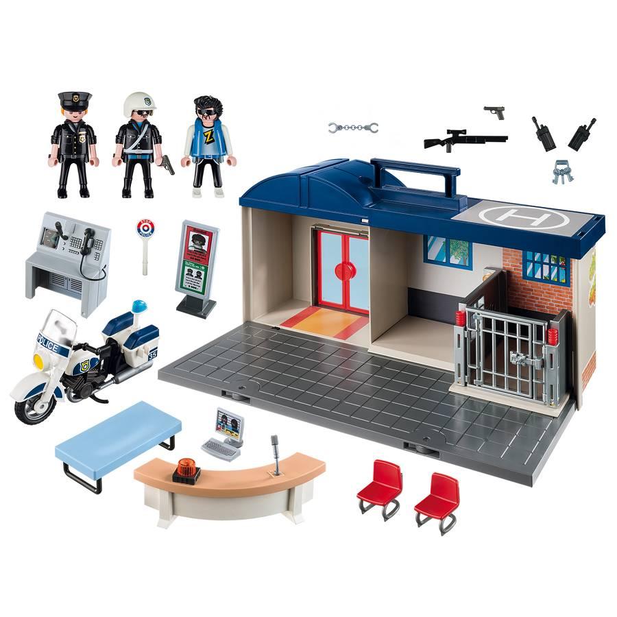 Playmobil Playmobil 5689 Take Along Police Station