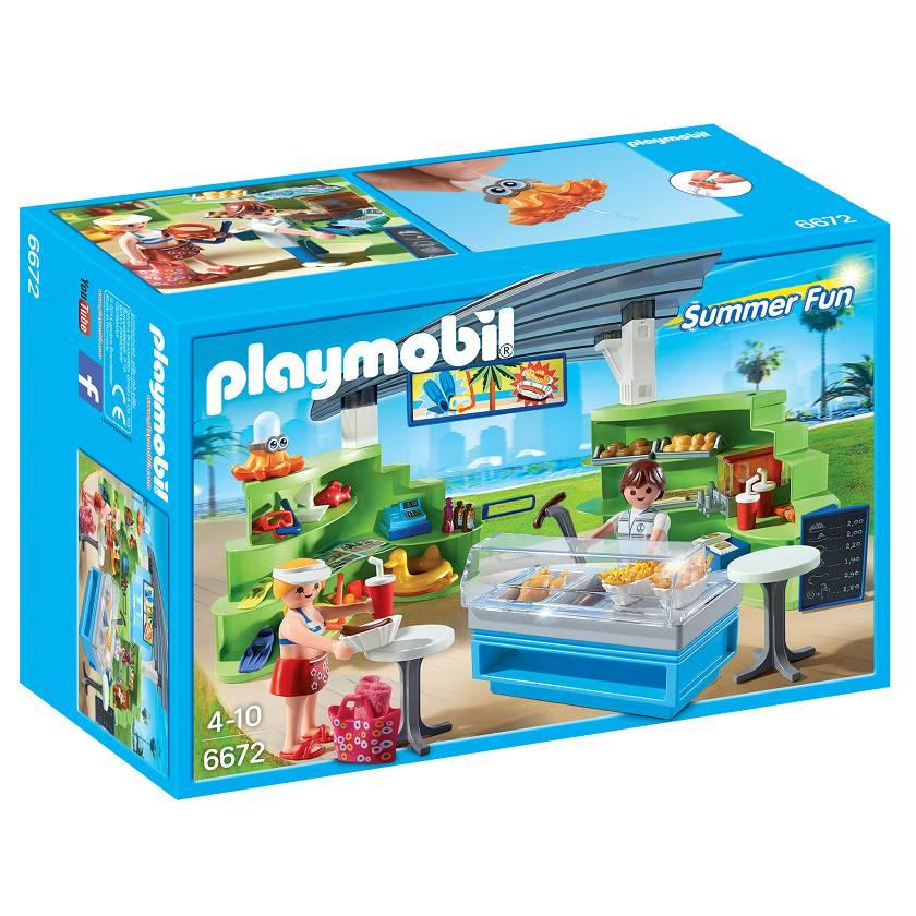 Playmobil Playmobil 6672 Splish Splash Cafe
