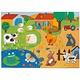 Djeco Djeco 07117 - Giant Puzzle / Tactilofarm / 12 + 8 pcs