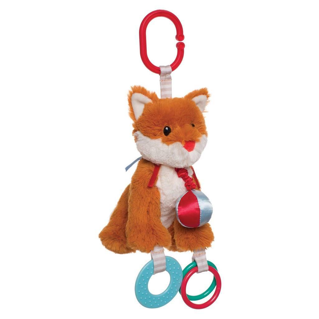 Manhattan Toy Manhattan Toy 214040 - WOODLAND BABIES FELIX FOX STROLLER TOY