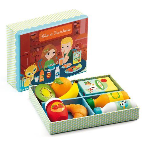 Djeco Djeco 06540 - Felix et Francoise - Petit dejeuner