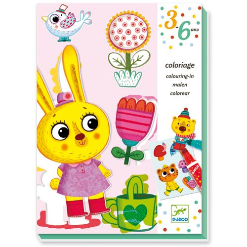 Djeco Djeco 08991 Colouring for todlers / 4 seasons
