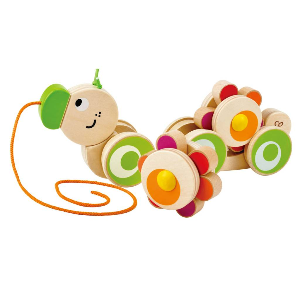 Hape Hape E0351 Walk-a-long Caterpillar