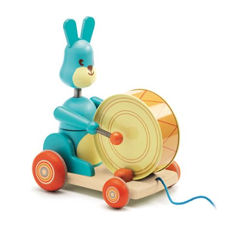 Djeco Djeco 06251 Push along toy / Bunny Boum