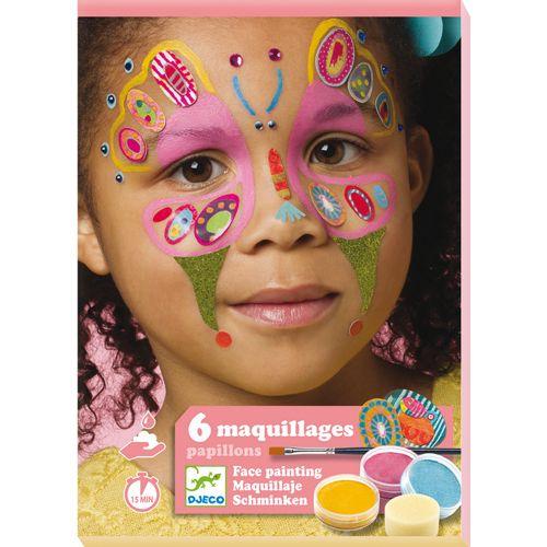 Djeco Djeco 09206 Make-up set / Butterfly