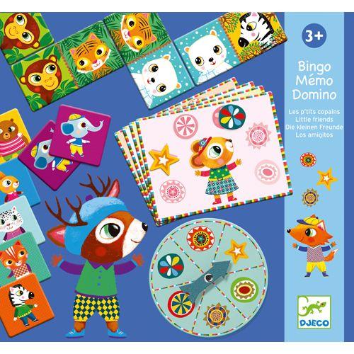 Djeco Djeco 08131  Bingo - memo - domino / Little friends