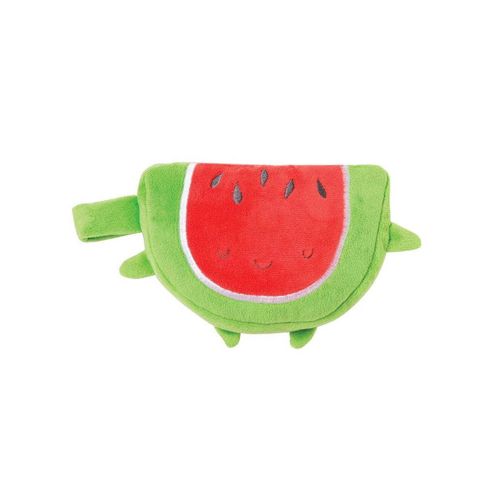 Manhattan Toy Manhattan Toy 215620 - Farmer's Market Watermelon Baby Snuggle Blankie