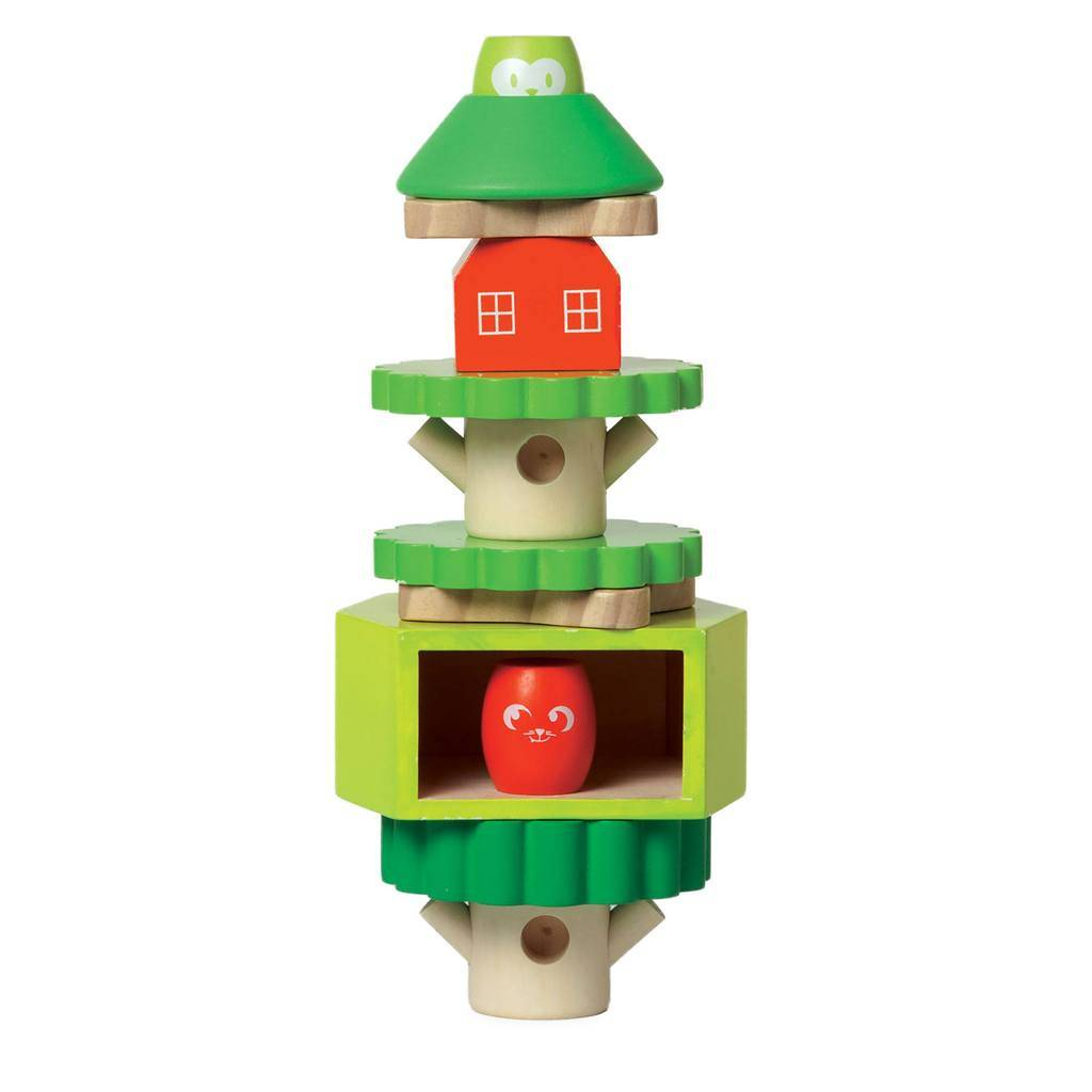 Manhattan Toy Manhattan Toy 213430 - TREEHOUSE STACK-UP