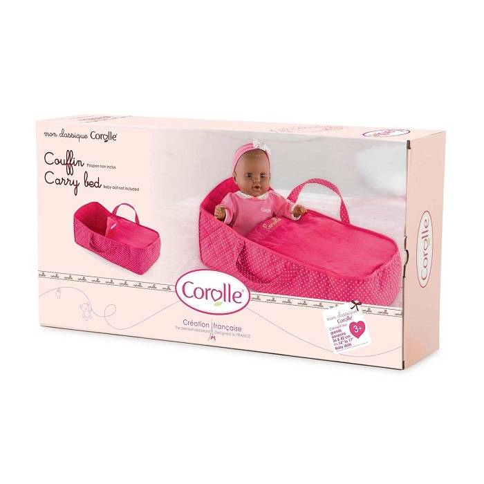 Corolle Corolle DMT95 Mon Premier Cherry Carry Bed 36 to 42cm