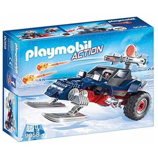 Playmobil Playmobil 9058 Ice Pirate with Snowmobile
