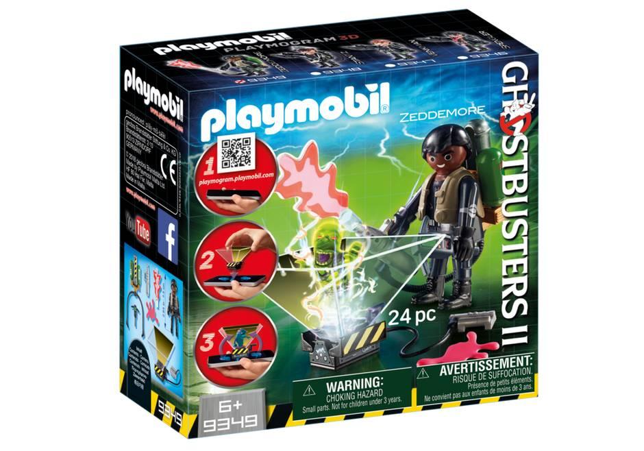 Playmobil Playmobil 9349 Ghostbuster Winston Zeddemore