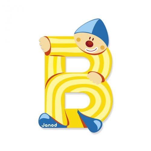 Janod Janod 4543 Clown Letter B