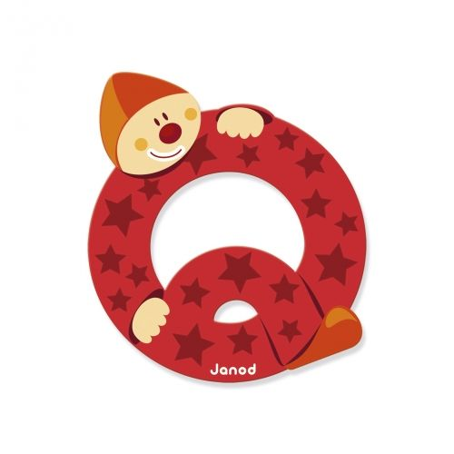 Janod Janod 4558 Clown Letter Q