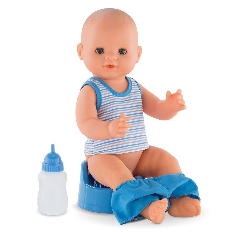 Corolle Corolle FPK24 Paul Drink-and-Wet Bath Baby 36cm