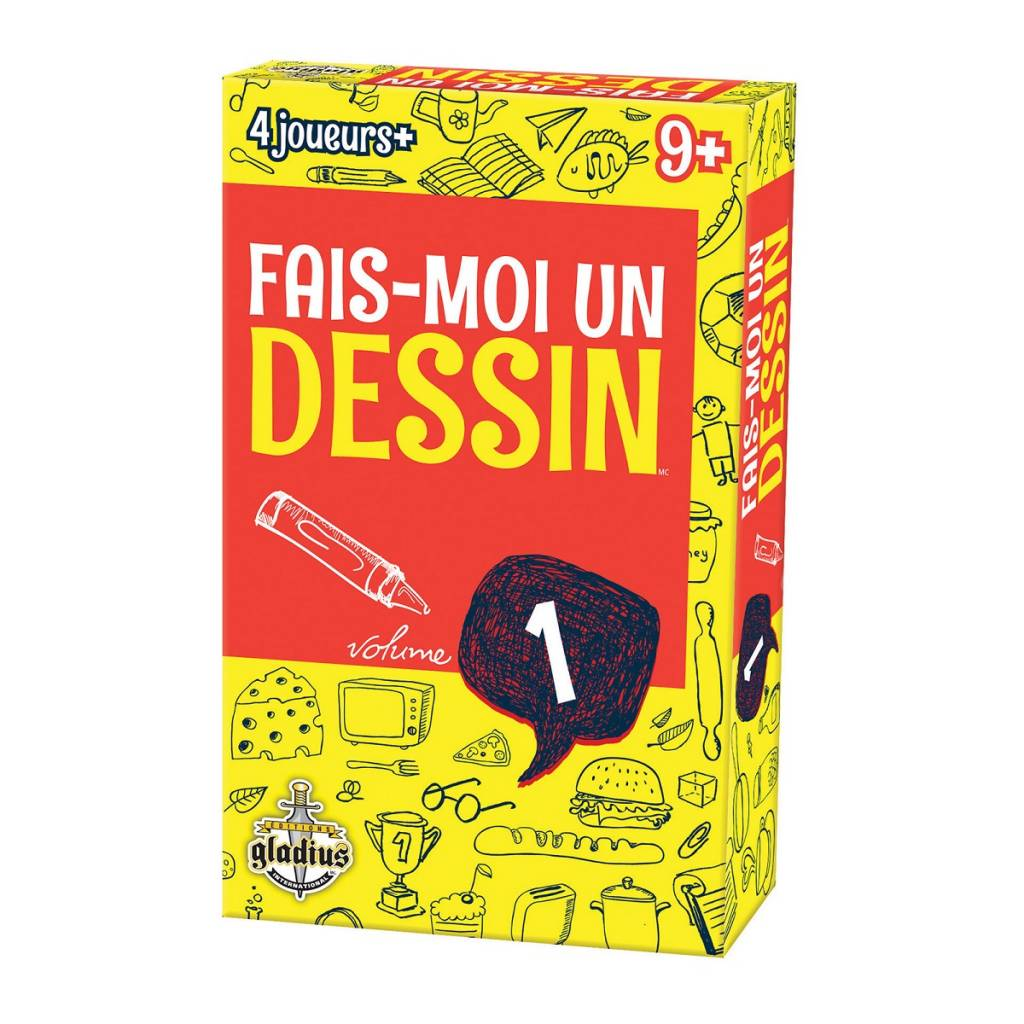Gladius Fais moi un Dessin Volume 1 FR